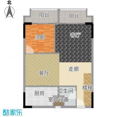 漕湖之星100.00㎡一期5#公寓标准层D户型