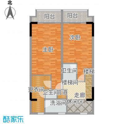 漕湖之星100.00㎡一期5#楼公寓标准层C户型