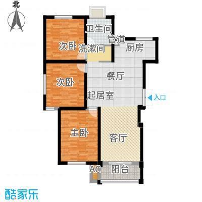 鸿运家园115.00㎡8#小高层标准层G户型