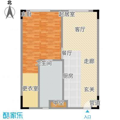 晋合公寓103.00㎡3#标准层G户型