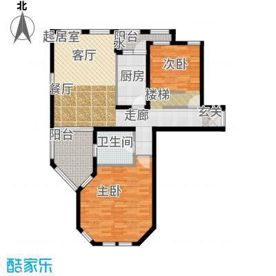 普罗旺斯102.00㎡多层23号楼标准层C户型