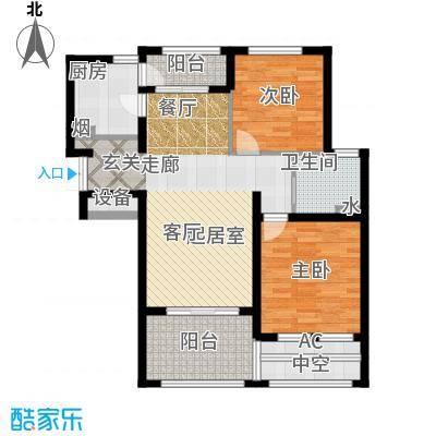 普罗旺斯89.00㎡小高层19、27号楼标准层B3户型