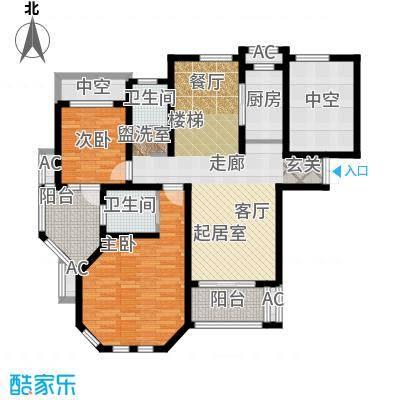 普罗旺斯117.00㎡多层9、15号楼标准层C户型