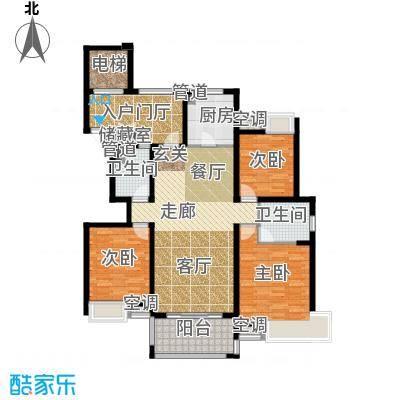 """平江怡景130.00㎡1#2#3#4#5#6#8#10#""""帝""""户型"""