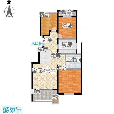 九龙仓碧堤半岛100.00㎡2-33#A+空中花园户型
