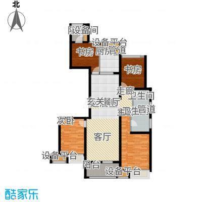 万科金域平江135.00㎡二期10#楼标准层C户型
