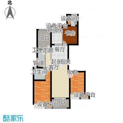 万科金域平江135.00㎡二期10#楼标准层D户型