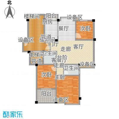尚品馨苑119.00㎡面积11900m户型