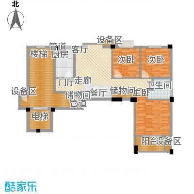 尚品馨苑89.00㎡面积8900m户型