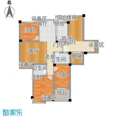 尚品馨苑116.00㎡面积11600m户型
