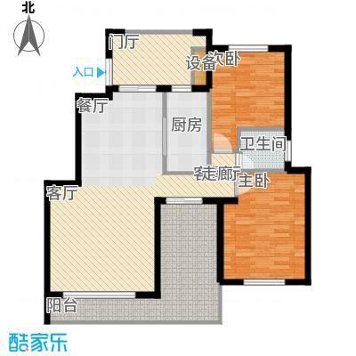 阳光聚宝山庄臻园100.66㎡一期5层面积10066m户型