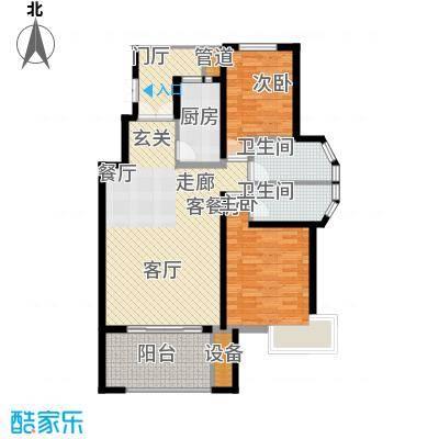 阳光聚宝山庄臻园107.93㎡一期3层面积10793m户型