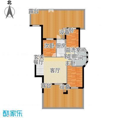 阳光聚宝山庄臻园150.85㎡一期1层面积15085m户型