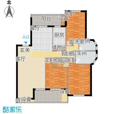 阳光聚宝山庄臻园157.65㎡一期3层面积15765m户型