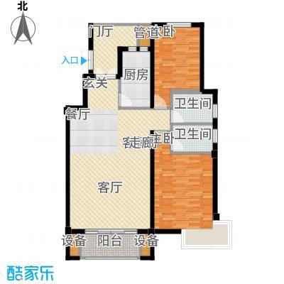 阳光聚宝山庄臻园104.87㎡一期4层面积10487m户型