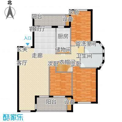 阳光聚宝山庄臻园170.76㎡一期2层面积17076m户型