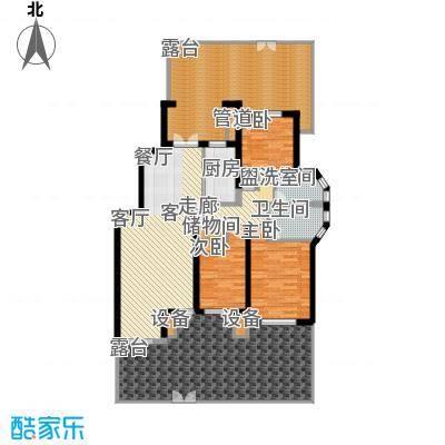 阳光聚宝山庄臻园144.59㎡一期1层面积14459m户型