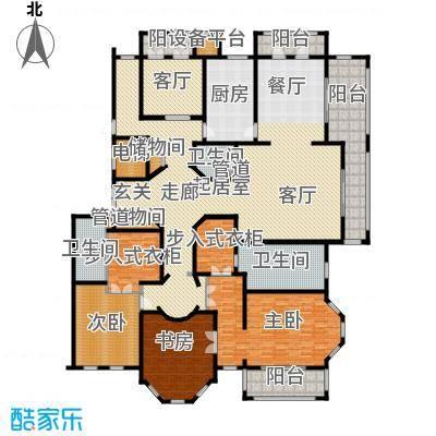 天正桃源316.00㎡一期4号楼标准层面积31600m户型