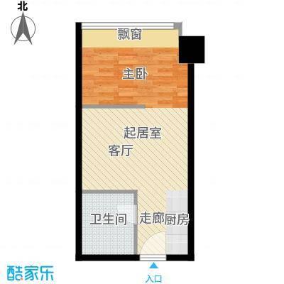 银城聚锦园42.00㎡1面积4200m户型
