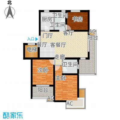 银城聚锦园116.00㎡一期2号楼7-2面积11600m户型