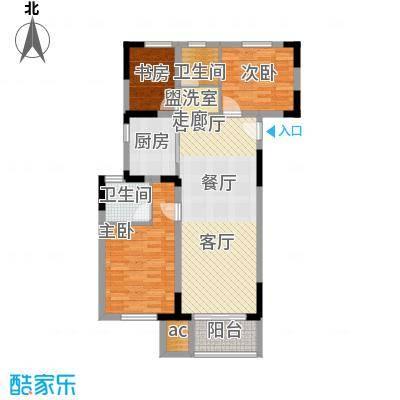 仁恒G53公寓120.00㎡面积12000m户型