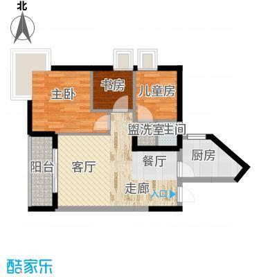 娱苑新村81.00㎡1面积8100m户型