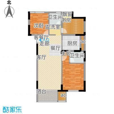 仁恒G53公寓116.00㎡面积11600m户型