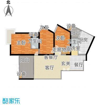 长江之家166.00㎡面积16600m户型