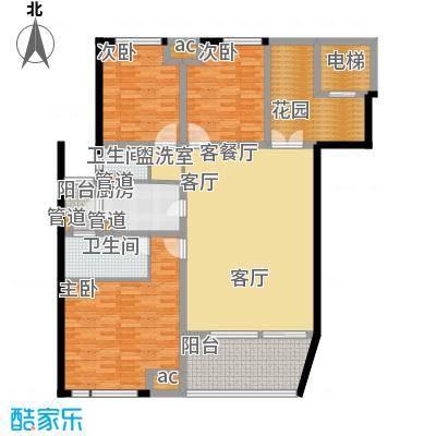 金地名京143.00㎡面积14300m户型