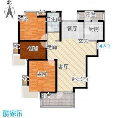 华汇康城108.00㎡面积10800m户型