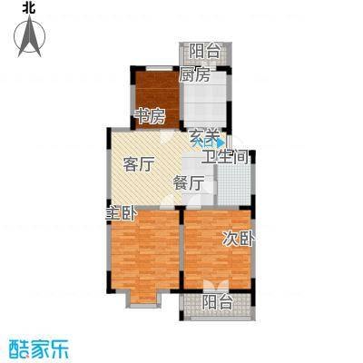 怡康新寓95.81㎡面积9581m户型