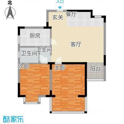 怡康新寓98.00㎡面积9800m户型