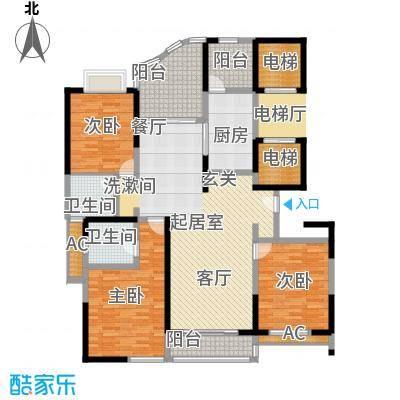 凤凰港蓝宝湾花园174.07㎡面积17407m户型
