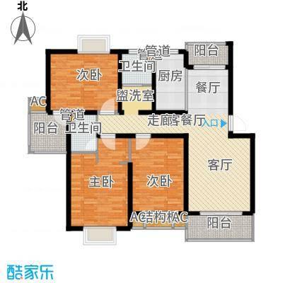 高新花苑113.50㎡面积11350m户型
