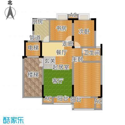奥体新城海棠园3户型