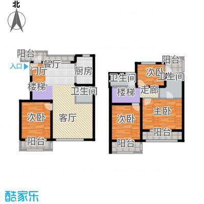 众众德尚世嘉162.22㎡上海叠加别墅户面积16222m户型