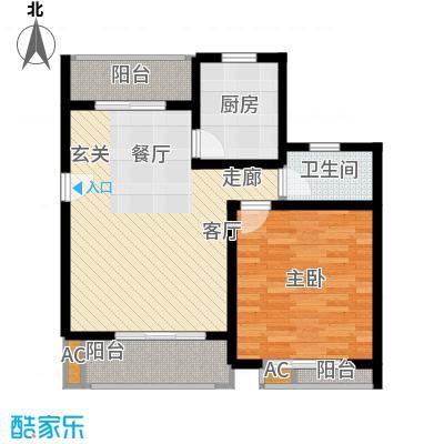 众众德尚世嘉73.10㎡上海面积7310m户型