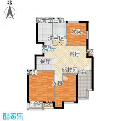 美达浅草明苑115.00㎡面积11500m户型