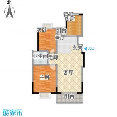 广博苑95.52㎡面积9552m户型