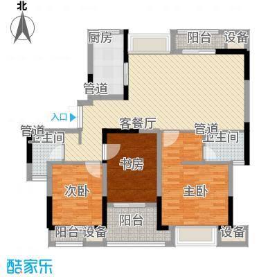 苏宁睿城131.26㎡一期1号楼1-17层面积13126m户型
