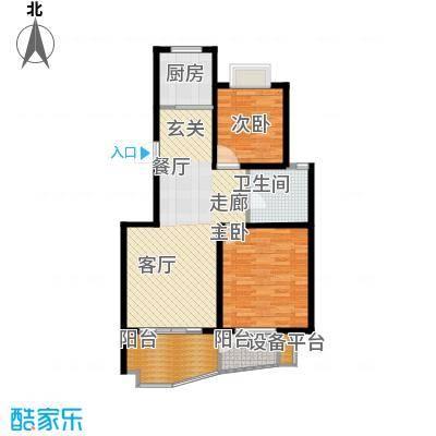 中南麒麟锦城98.28㎡面积9828m户型