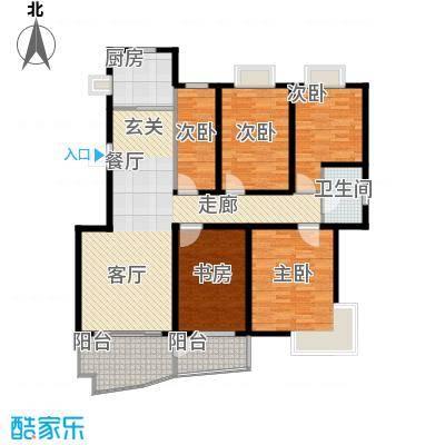 中南麒麟锦城146.50㎡面积14650m户型