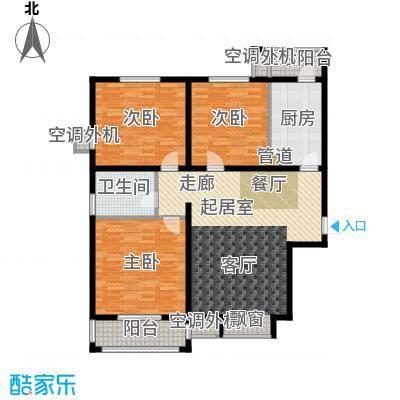 阳光公寓128.00㎡面积12800m户型