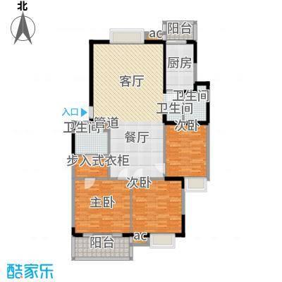 武夷商城123.90㎡面积12390m户型