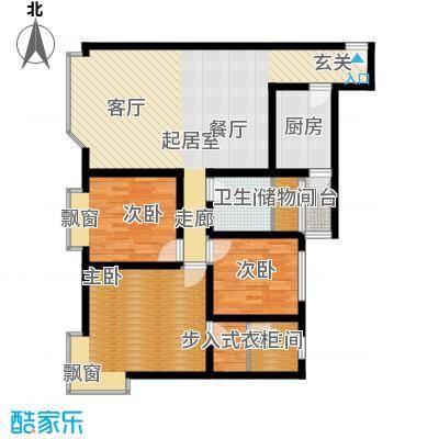 康锦苑135.00㎡面积13500m户型