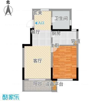国信阅景龙华75.00㎡面积7500m户型