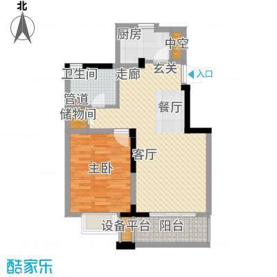 国信阅景龙华73.67㎡面积7367m户型