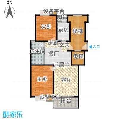 苏宁馨瑰园151.11㎡面积15111m户型