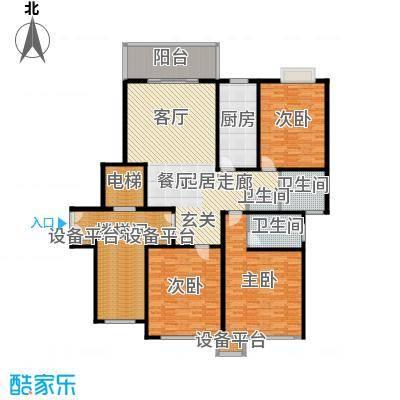 苏宁馨瑰园203.19㎡面积20319m户型