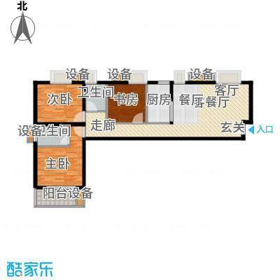 辰龙广场112.30㎡面积11230m户型